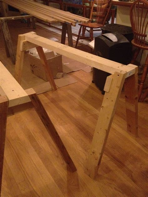 Strong Sawhorse Plans Simple Light