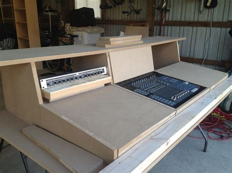Studio-Console-Desk-Building-Plans
