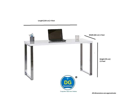 Study Table Depth Size In Inch