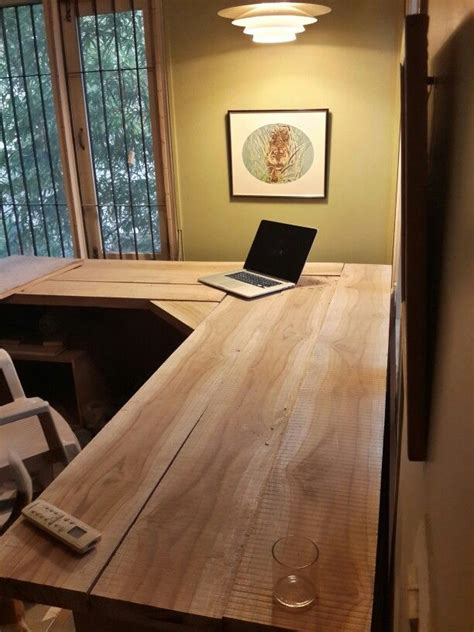 Study Table Diy Underneath