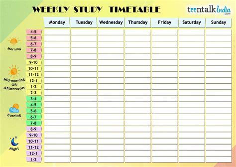 Study-Time-Table-Plan