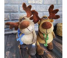 Best Stuffed moose toy pattern