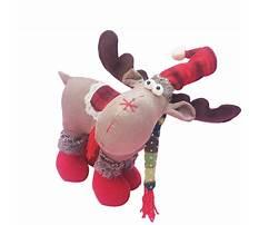 Best Stuffed moose toy patterns