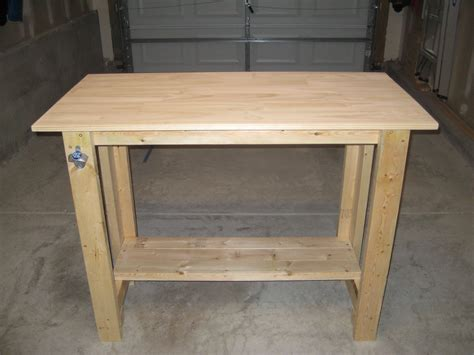 Sturdy Work Table Diy