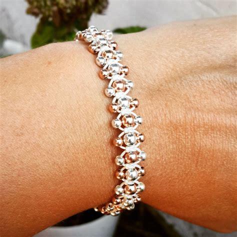 Stylish silver bracelet