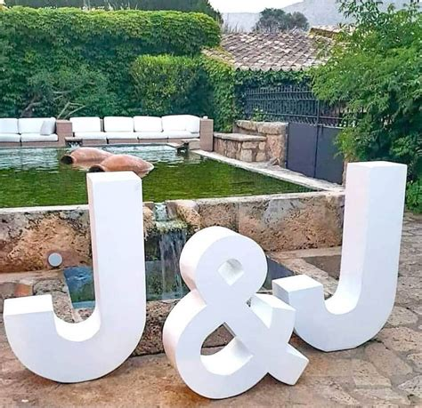 Styrofoam Letter Table Diy Ideas