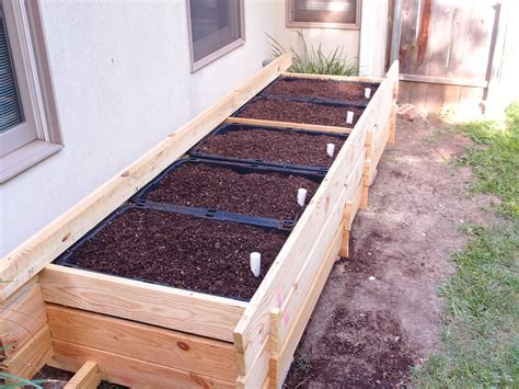 Sub Irrigated Planter Box Diy