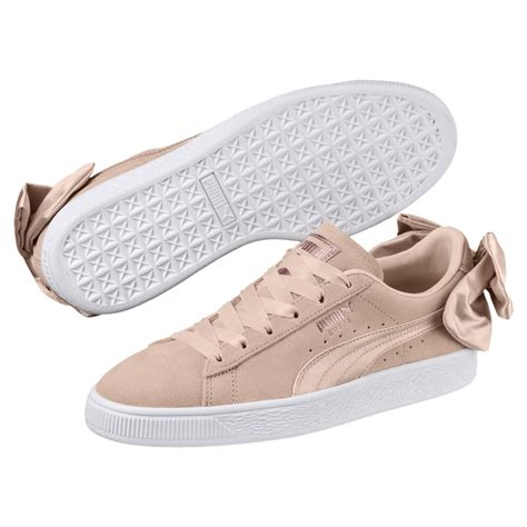 Suede Bow Sneakers Puma