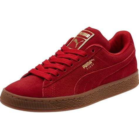 Suede Classic Gold Womens Sneakers Puma