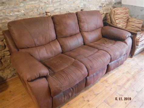 Suede Loveseat Recliner