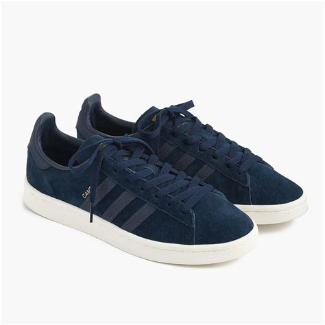 Suede Navy Blue Adidas Campus Sneakers