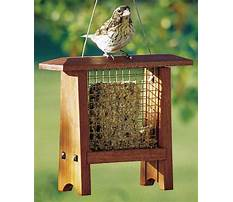Best Suet bird feeder woodworking plan.aspx