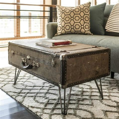 Suitcase Coffee Table Diy Bench