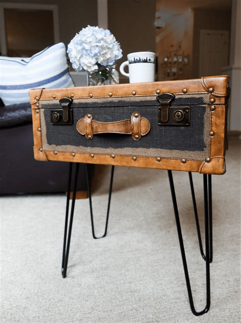 Suitcase End Table Diy Plans