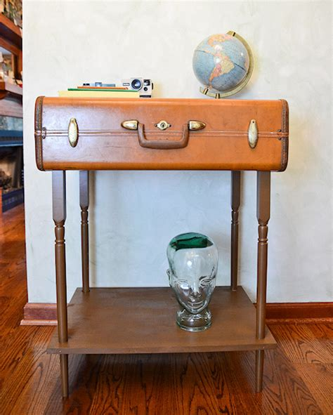 Suitcase Side Table Diy Ideas