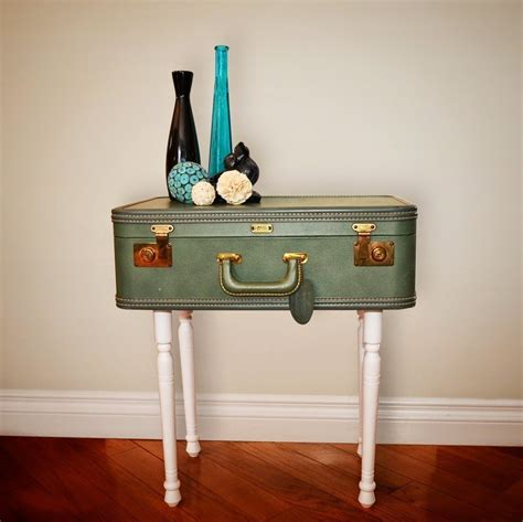 Suitcase To Table Diy