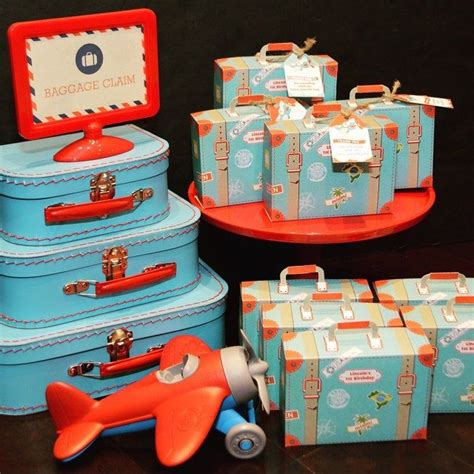 Suitcase To Table Diy Favors