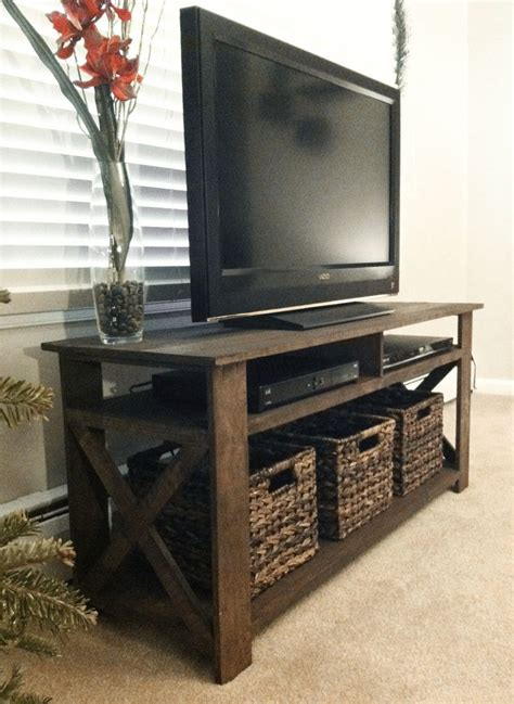 Super Long DIY Tv Stand