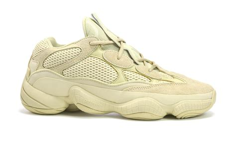 Super Moon Yellow Adidas Yeezy 500 Sneakers