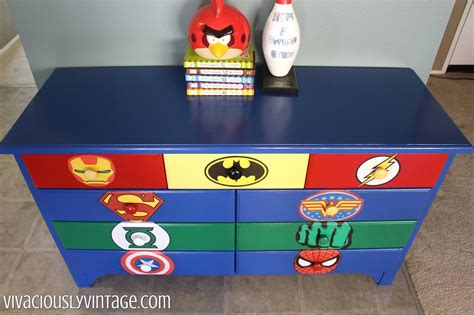 Superhero Dresser Diy