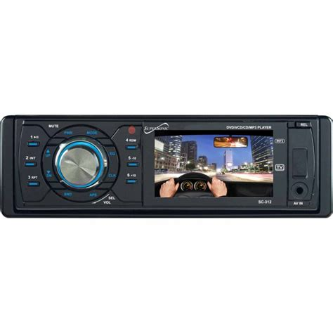 Supersonic Car DVD Player - 3' LCD SC-312