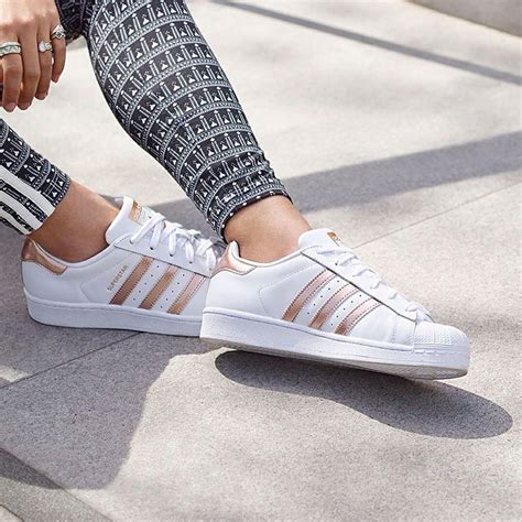 Superstar Sneaker Adidas Rose Gold