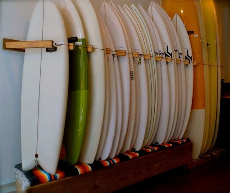 Surfboard Storage Diy Room