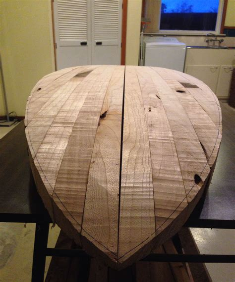 Surfboard-Plans-Wood