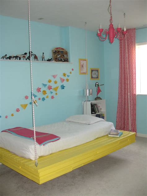 Suspended Bunk Bed Diy Decor