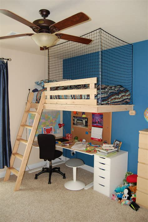 Suspended Bunk Bed Diy Under 40