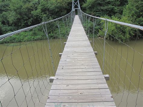 Suspended Foot Bridge Plans