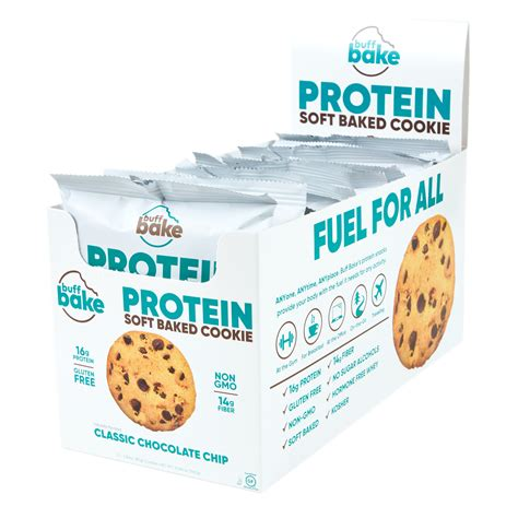 f84360bed3b2 Check Price Sweet Savings On Buff Bake, Protein Cookie, Classic ...