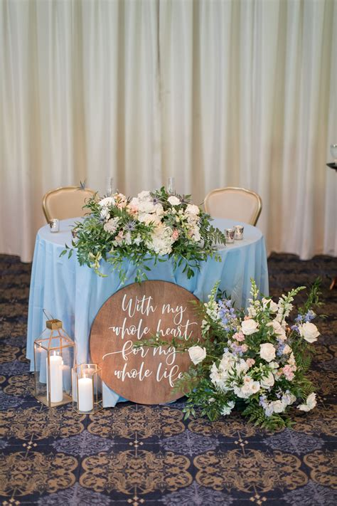 Sweetheart Table Decorations Diy