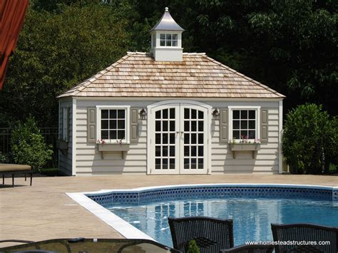 Swimming Pool Shed Plans