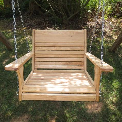 Swing Chair Woodworking