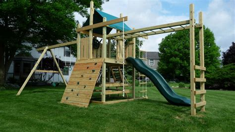 Swing Set Plans With Monkey Bars Plans