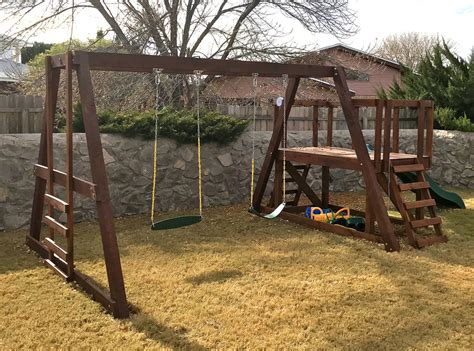 Swing-Set-Plans-And-Materials