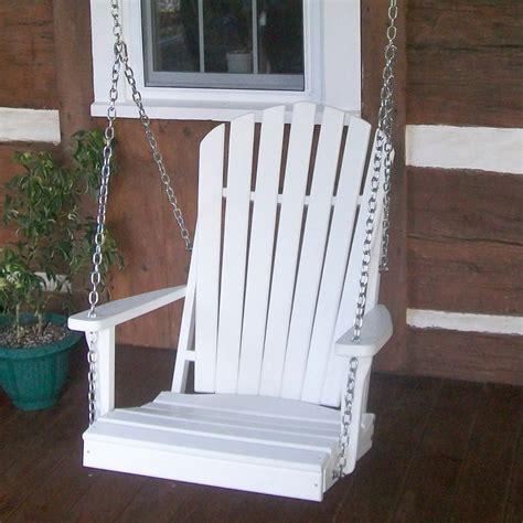 Swinging-Adirondack-Chair