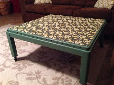 Swivel Coffee Table Diy 6