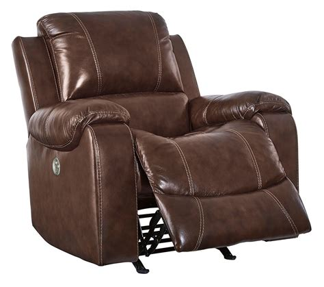 Swivel Rocker Recliner Mahogany