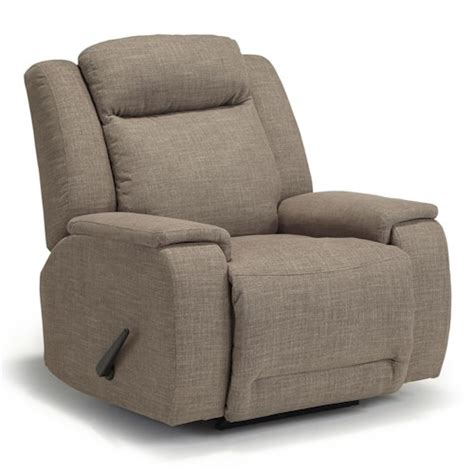 Swivel Rocking Recliner Memory Foam