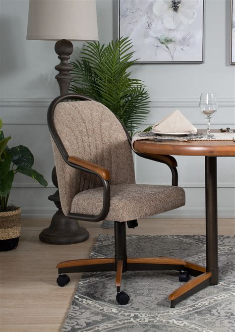 Swivel Tilt Dining Chairs On Casters