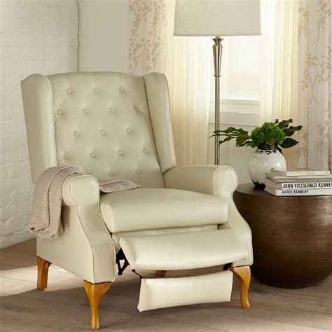 Swivel Wing Back Recliner Chairs