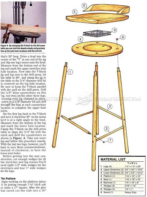 Swivel-Bar-Stool-Plans