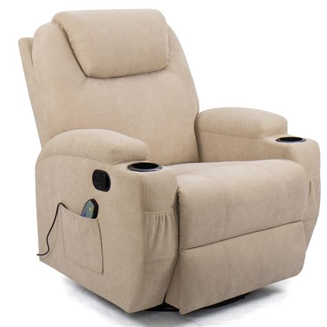 Swiveling Rocking Recliner