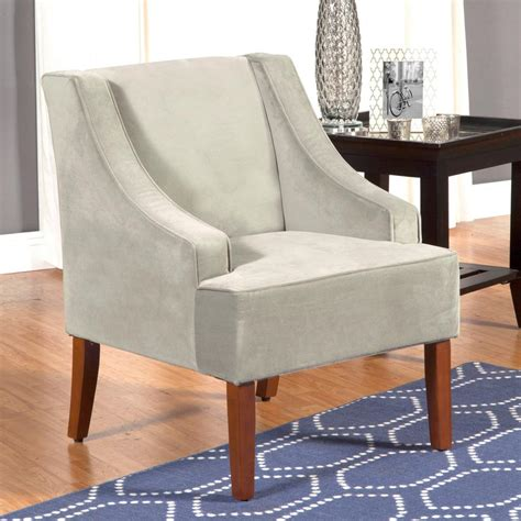 Swoop Arm Accent Chairs Homepop