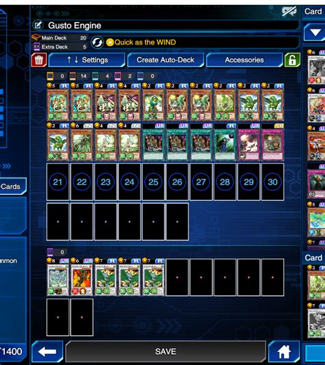 Synchro Deck Build Duel Links Meta