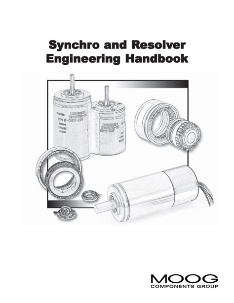 [pdf] Synchro And Resolver Engineering Handbook - Moog Com.