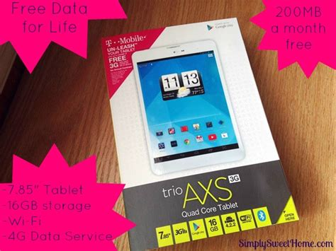 T mobile Data Plans For Tablets