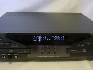 TDK DA-3826 DUAL DECK 4X AUDIO CD RECORDER PLAYER DUPLICATOR SYSTEM